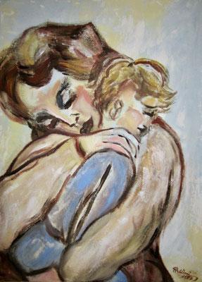 """Mutterliebe"", 60 x 80cm, Nr. 802"