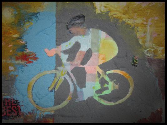 Rennradfahrer (The best, 85x120cm) Nr. 702