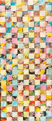 Bild Nr. 939, ähnlich, 50 x 115 cm, Acryl