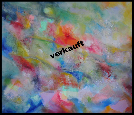 Gazebild abstrakt (120x135cm) Nr. 712
