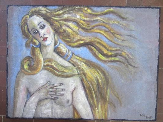 Venus der 3Leitersandstruktur, 120 x 90cm, Nr. 827