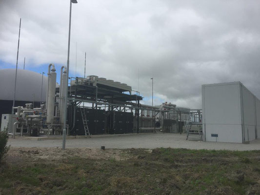 Biogas compressor systemen GtS
