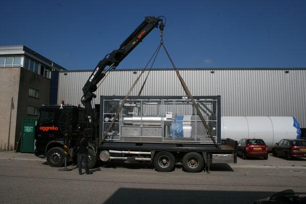 mobiele biogasbehandeling GtS