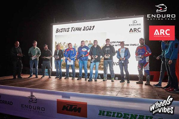 Siegerehrung Adventure Ride Competition 2021