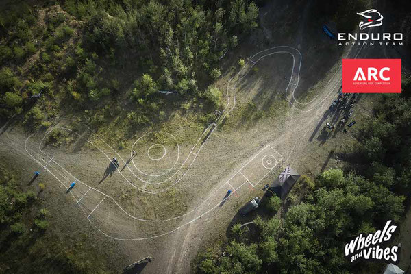 Luftaufnahme Enduro ARC 2021