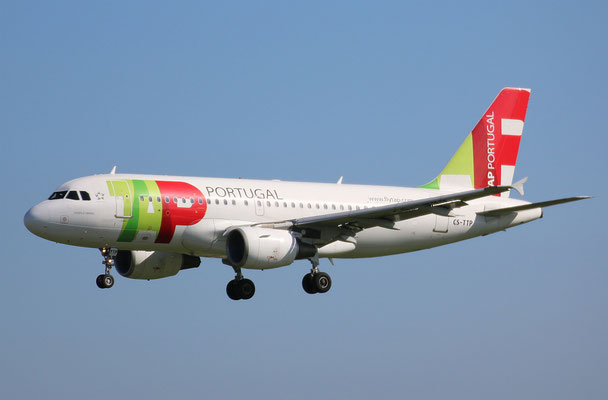 "A 319-111 "" CS-TTP ""  TAP Air Portugal -5"