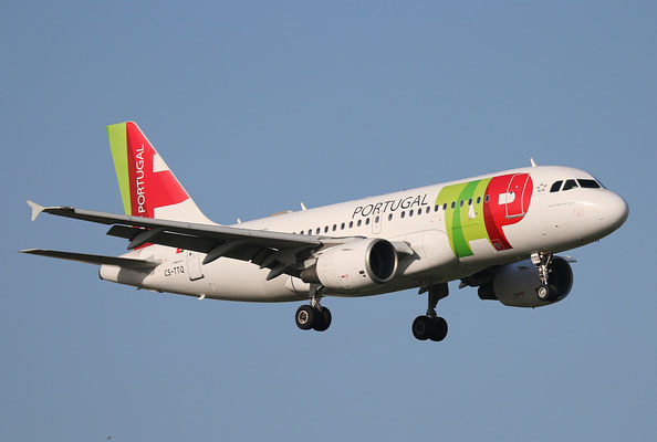 "A 319-111 "" CS-TTQ ""  TAP Air Portugal -2"