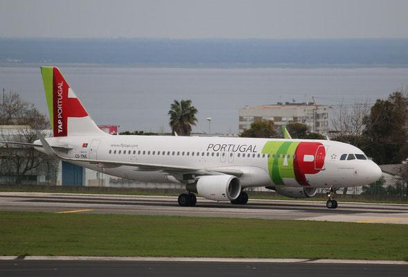"""A 320-214  """" CS-TNS """" TAP-Air Portugal -4"""
