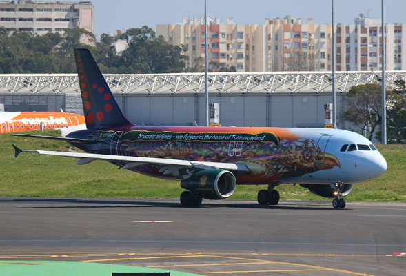 "A 320-214  "" OO-SNF "" Brussels Airlines -3"