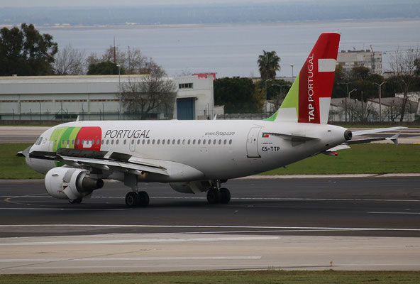 "A 319-111 "" CS-TTP ""  TAP Air Portugal -2"
