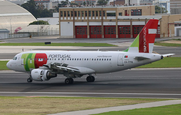 "A 319-111 "" CS-TTQ ""  TAP Air Portugal -4"