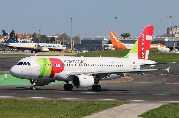 "A 319-111 "" CS-TTP ""  TAP Air Portugal -3"