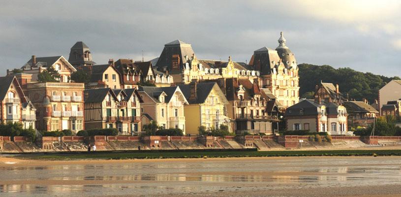 Houlgate Normandie - Marche aquatique Bord de mer