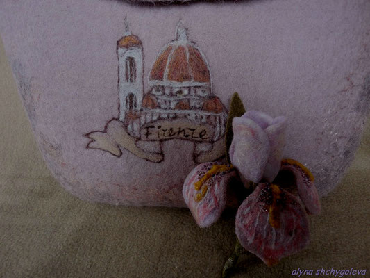 """""""Firenze, sei un Iris tenero""""A. Blok/""""Флоренция, ты ирис нежный…"""""""