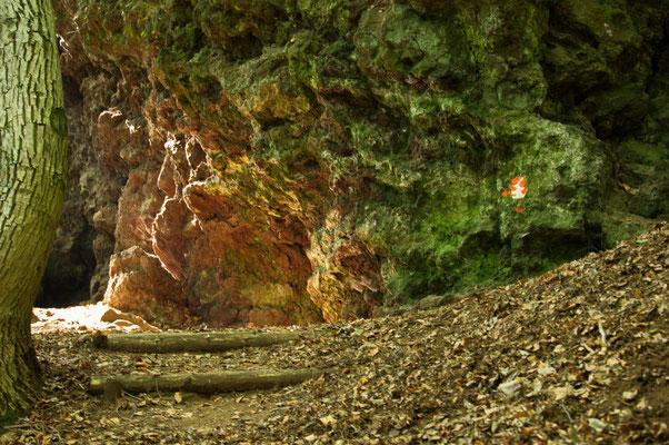 Die Höhlen sind besonders für Kinder spannend, während des Krieges wurden Sie zum Schutz aufgesucht