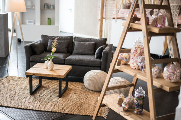 """Hochzeitslocation in Hamburg, Trend Studio & Loft, Lounge Paket """"die Romantischen"""""""