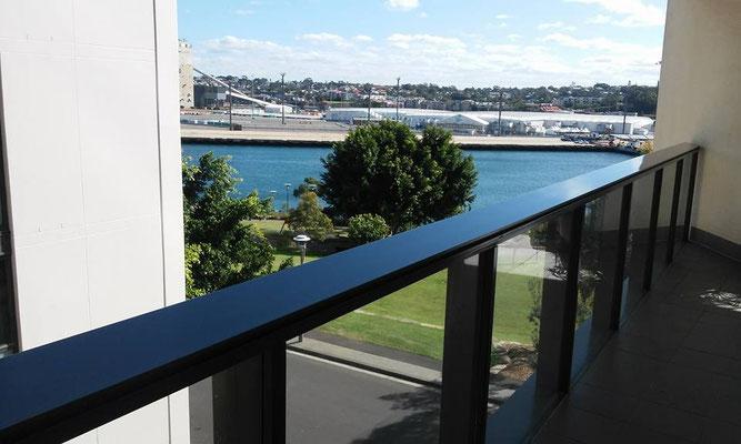 spray painting balustrades and railings