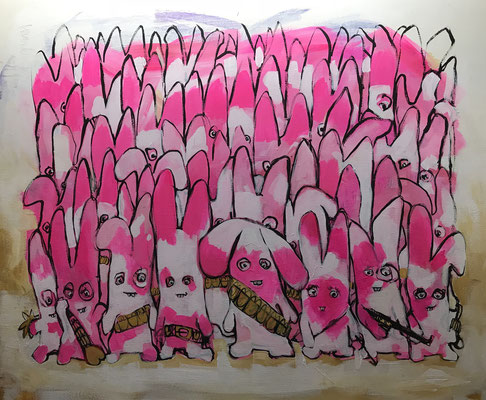 Pink Rabbit Army!