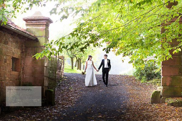 Als Hochzeitsfotograf auf dem Gut Hühnerhof in Gründau Gettenbach ...