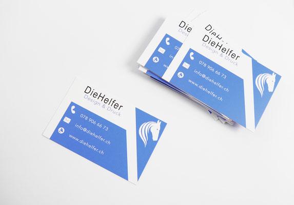 Visitenkarten 8 5 X 5 5 Cm Drucken Ihre Homepage Zu