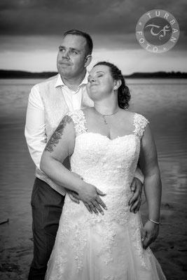 Hochzeit Shooting am Wasser Fotograf