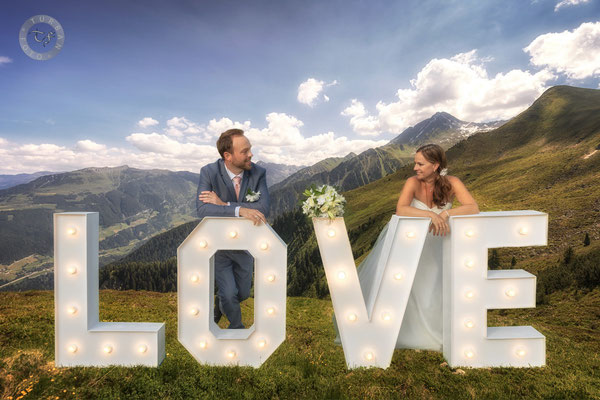 Shooting Hochzeit Fotomontage