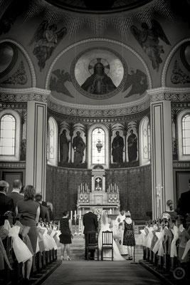 Trauung in der Kirche Potsdam