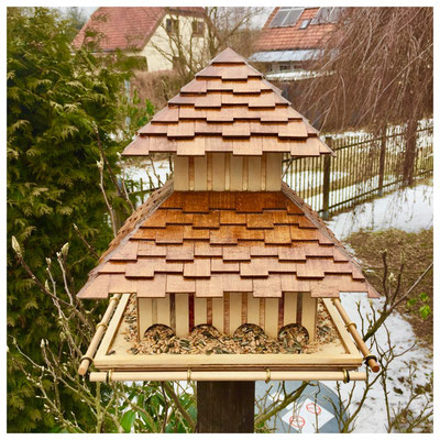 Bird Feeder - Pagoda