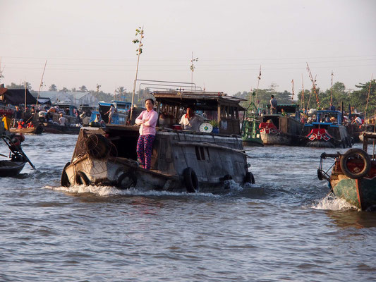 """""""Mekong-Queen I"""" bei Can Tho"""