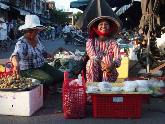 Verkäuferin in Hoi An