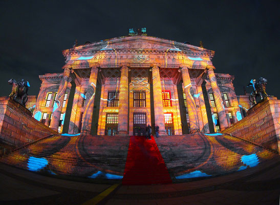 Schauspielhaus, Gendarmenmarkt, Festival of Lights