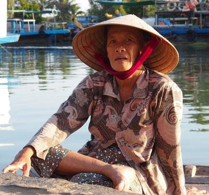 Bootsführerin in Hoi An