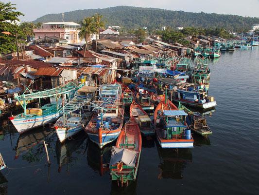 Hafen der Hauptstadt Duong Dong auf Phu Quoc