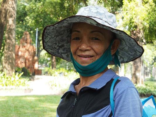 in einem Park von Saigon