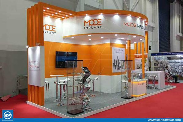 Stand Contractors in Turkey, Exhibition Stands, Modular Stand Designs, Trade Show, Congress Stands, Stand Design İdeas, Wooden Exhibition Stands