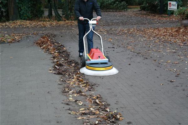 Westermann Radialbesen - ganzes Jahr im Einsatz