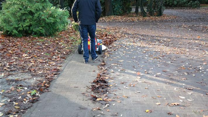 Westermann Radialbesen für effektive Straßenreinigung