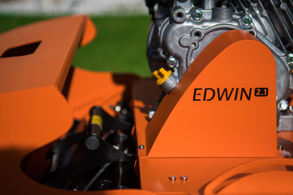 Swardman Spindelmäher in optimierter Form: Edwin 2.1