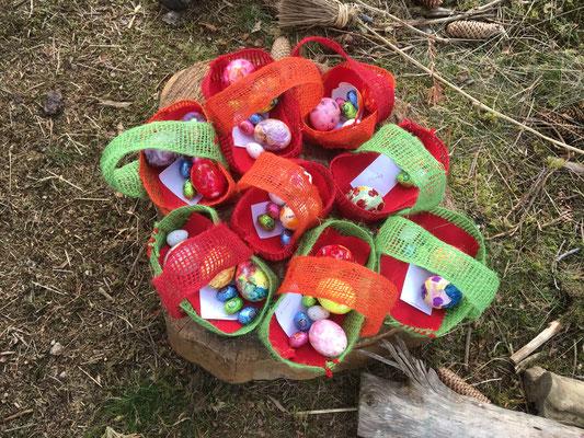 Osterfest im Wald
