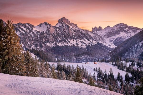 Bild Nr. 2020_9497: Abendliche Winterstimmung im Alpstein