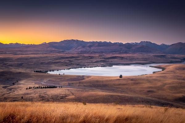 Bild Nr. 2019_5440: Blick auf Lake Alexandrina vom Mount John (Tekapo), Neuseeland