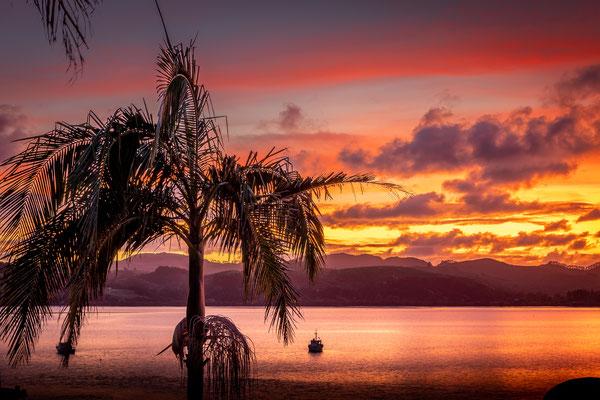 Bild Nr. 2019_6750: Farbige Abendstimmung in Mangonui, Neuseeland