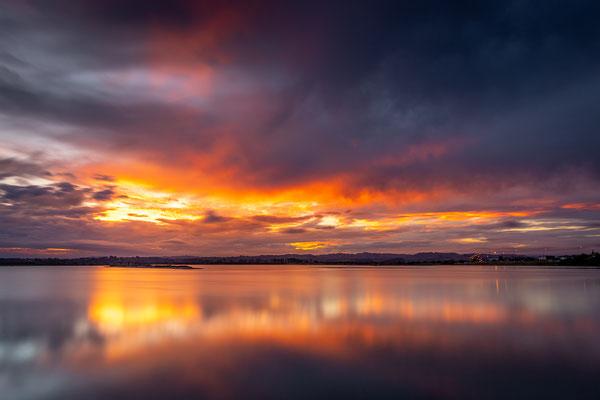 Bild Nr. 2019_5851: Dramatischer Abendhimmel in Napier, Neuseeland