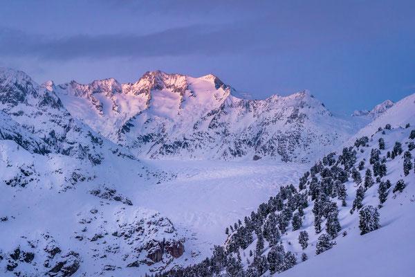 Bild Nr. 2021_2051: Aletschgletscher im Winterkleid