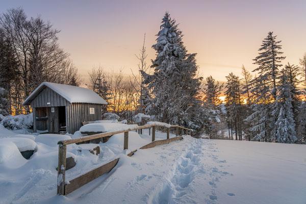 Bild Nr. 2020_9883: Winterlandschaft vor Sonnenaufgang