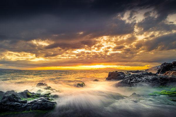 Bild Nr. 2019_6887: Abendstimmung am Meer auf Maui, Hawaii