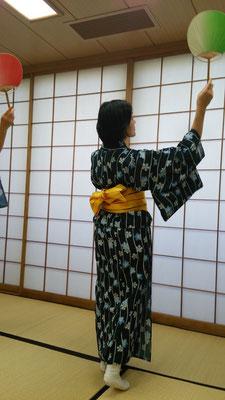 趣味の日本舞踊です