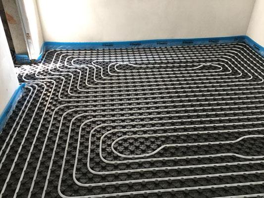impianto a pavimento monza