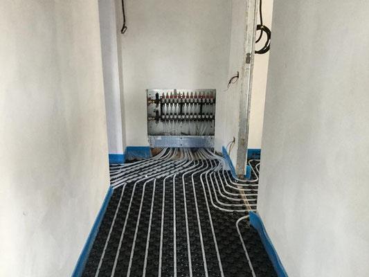 impianto di riscaldamento a pavimento monza