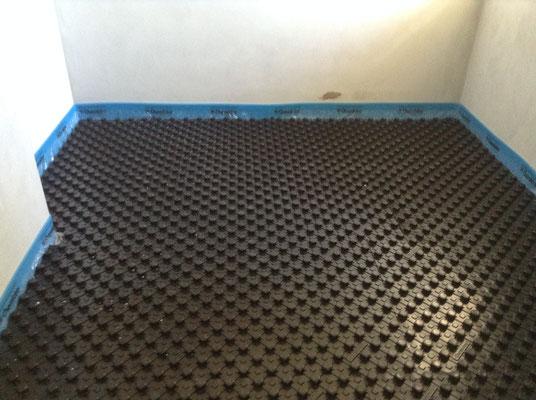 impianto di riscaldamento e raffrescamento a pavimento brianza
